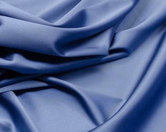Royal Blue Silk Taffeta Dress Fabric per half metre