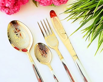 Engraved individual cutlery, the best gift ever ! Suitable for every occasion !