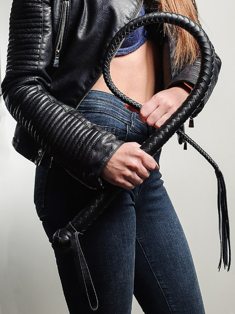 Bdsm leather single tail whip Leather bullwhip bdsm toys