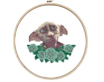 Dobby Cross Stitch Pattern - Instant download
