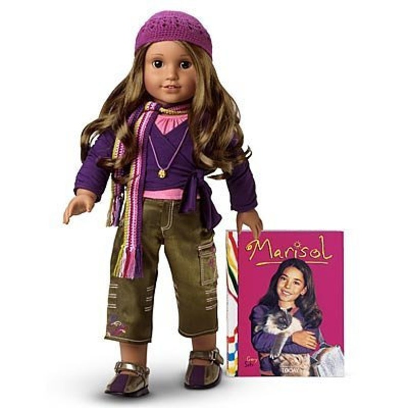 """American Girl Doll 18/"""" Marisol Luna Retired Meet Outfit CROCHET HAT ONLY"""