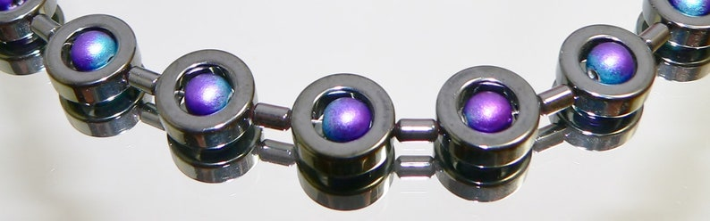 earrings black hematin pins Set hematin hematit donut black necklace acryl pearl jewelry set bracelet