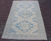 4x6 The size is 3 9 x5 8 ft which is 118x176 cm Handmade, Vintage Natural SUMAK Rug.FREE Shipping MS-2129x