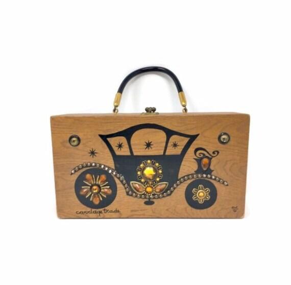 Vintage Enid Collins Box Handbag Circa 1967