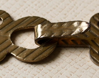 Metal Hook and Eye Clasp
