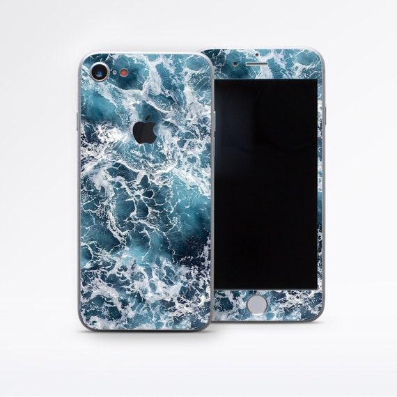 Ocean Decal Blue iPhone Skin iPhone 7 Plus Skin Phone Sticker   Etsy 3deead38b63