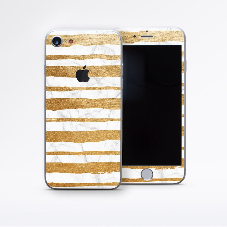 timeless design 77b23 d9a19 Marble Phone Decal Marble Skin Golden Decal iPhone 7 Skin iPhone 6 Plus  Decal iPhone 8 Skin Phone Skin Golden Marble iPhone X Skin DR3704
