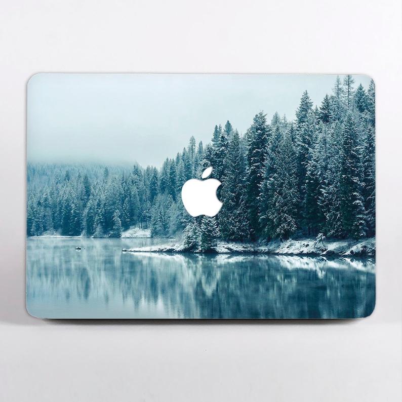 14eea704aae96 Winter Forest Sticker MacBook Pro 13 Skin Snow Nature Macbook 12 Inch  Sleeve Pro Retina 15 Decal MacBook Air Retina 13 2018 Mac Air 11DR3736