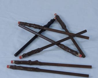Set of 7 Harry Potter inspired Pencil Wands