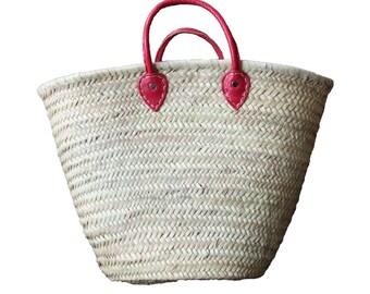 Basket Bag Color Pink