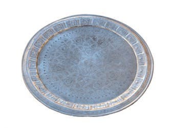 Vintage Alu-Tray Tea Large 76 cm