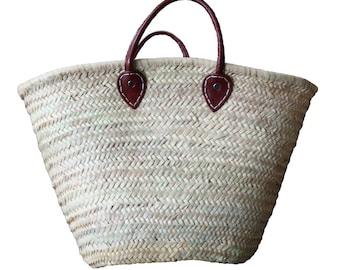 Basket Bag Color Brown
