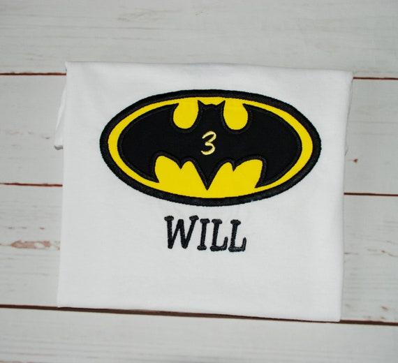 2fe3d409 Batman birthday shirt batman logo shirt batman shirt for | Etsy