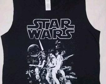 Brand New Original Star Wars Sleeveless Style.