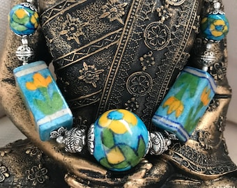 Clay jewelry; Clay jewelry necklace; Clay jewellery; Polymer clay; Polymer clay jewelry; Ceramic jewelry; Ceramic necklace; Summer jewelry