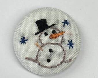 Snowman Needleminder