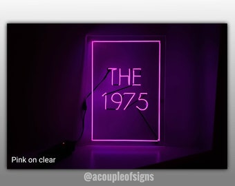 01ad65fe56b The 1975 | 'The 1975' | Neon-like sign.