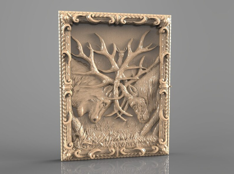 3d stl model for cnc router engraver carving machine relief etsy