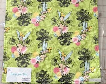 Tinkerbell Blanket, Pink Minky, Lovie, Baby Gift