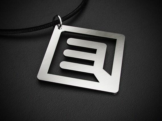 Halestorm Collier Acier inoxydable Pendentif Merch logo symbole