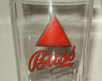 Bass® Ale Red Triange Base Pint Beer Glass