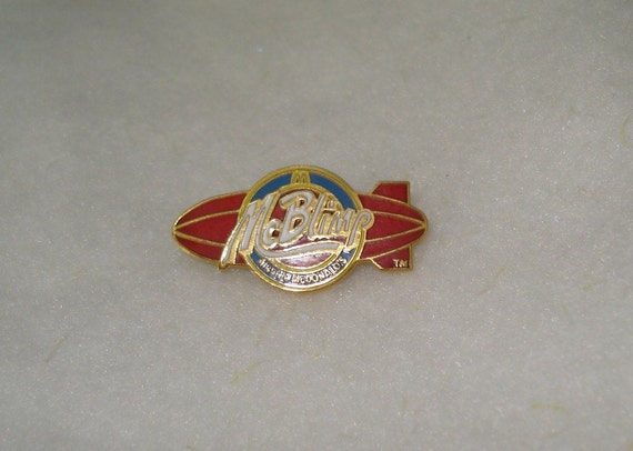 McDonalds Key To Success Lapel Pin