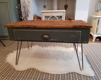 Industrial trunk coffee table