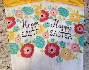 Hanging kitchen towel/Easter towels/Gift Set