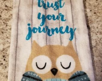 Hanging Kitchen Towel/Owl Kitchen Towel