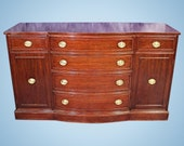 RWay Northern Furniture Federal Mahogany Buffet Console Sideboard Cabinet Server