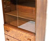 Art Deco Small China Cabinet Bookcase Breakfront Wardrobe Chest Bar Desk Vintage