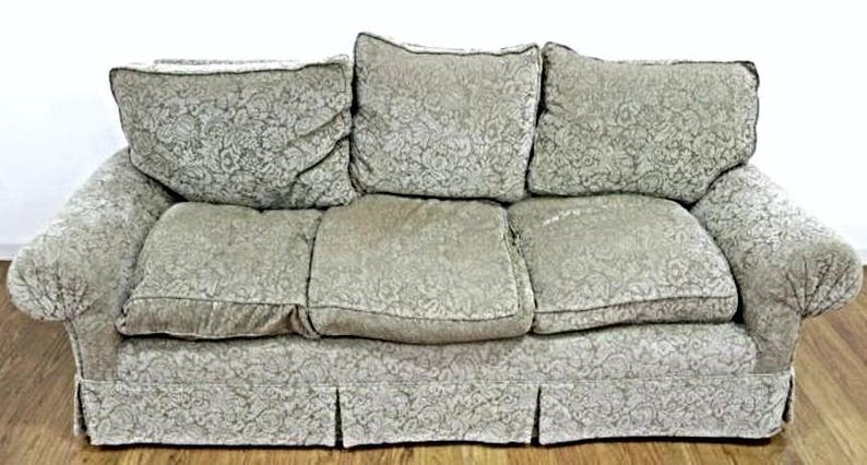 TOMMI PARZINGER Sofa with Provenance Velvet Upholstery Chaise Loveseat Couch