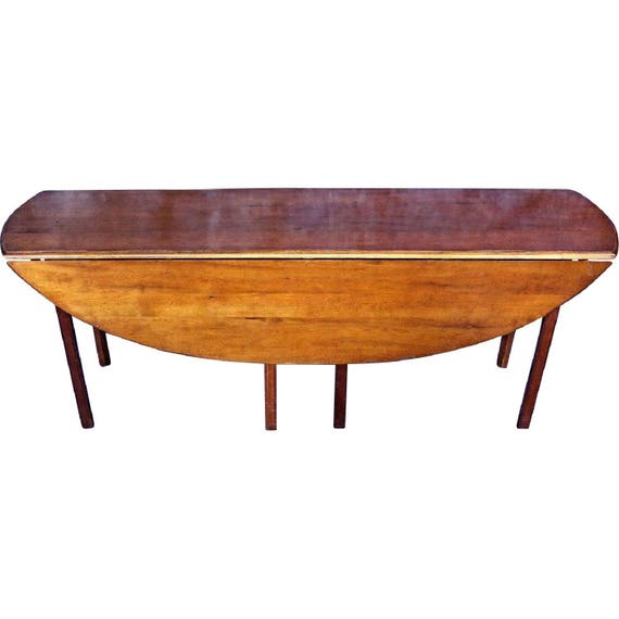 Stupendous Wright Cherry 79L Hunt Drop Leaf Dining Table Console Side Sofa Server Vintage Gmtry Best Dining Table And Chair Ideas Images Gmtryco