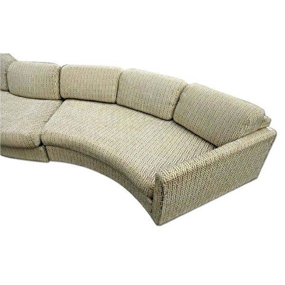 190l Milo Baughman Craft Assoc Sectional Sofa Couch Etsy