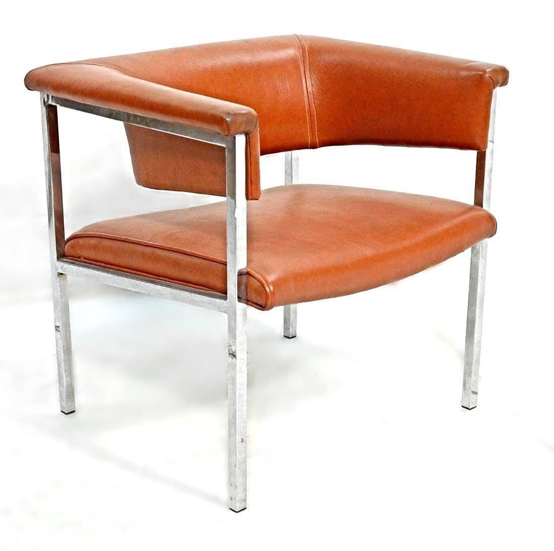 Etsy Orange Modern Design Chair