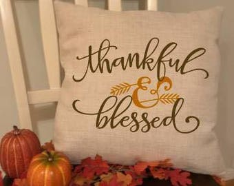 Throw pillow cover ~ Thanksgiving decoration