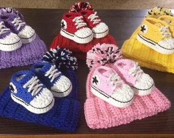 bcc44005d7b82 Crochet baby set | Etsy