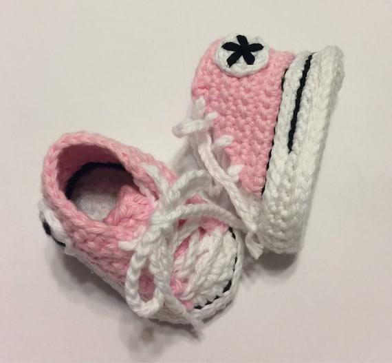 Baby Schuhe Etsy Baby Häkeln Baby Häkeln Chucks Converse Fuxpqwd