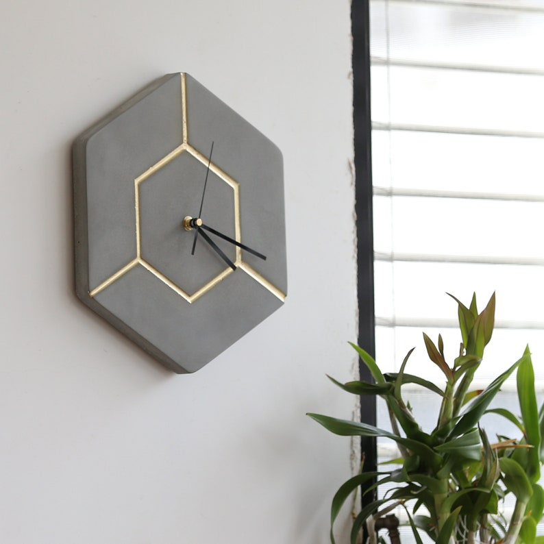 Tik  Concrete Wall Clock image 0