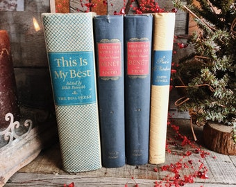 Old Books - Poetry & Prose FREE SHIPPING