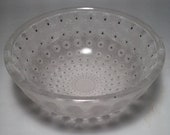 Lalique Nemours Patterned Coupe Bowl in Pristine Condition