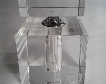 Orrefors Ice Design Perfume Bottle
