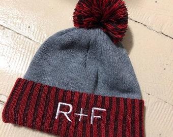 d885f3b903a NEW-Two Tone Winter Hat- R+F- Rodan + Fields Boggin