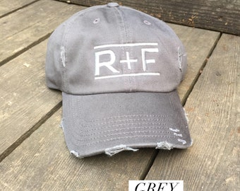 SOLID COLOR CAP- R+F- Rodan + Fields Trucker Cap, Baseball Cap, Trucker Hat, Rodan + Fields, R+F, Cap