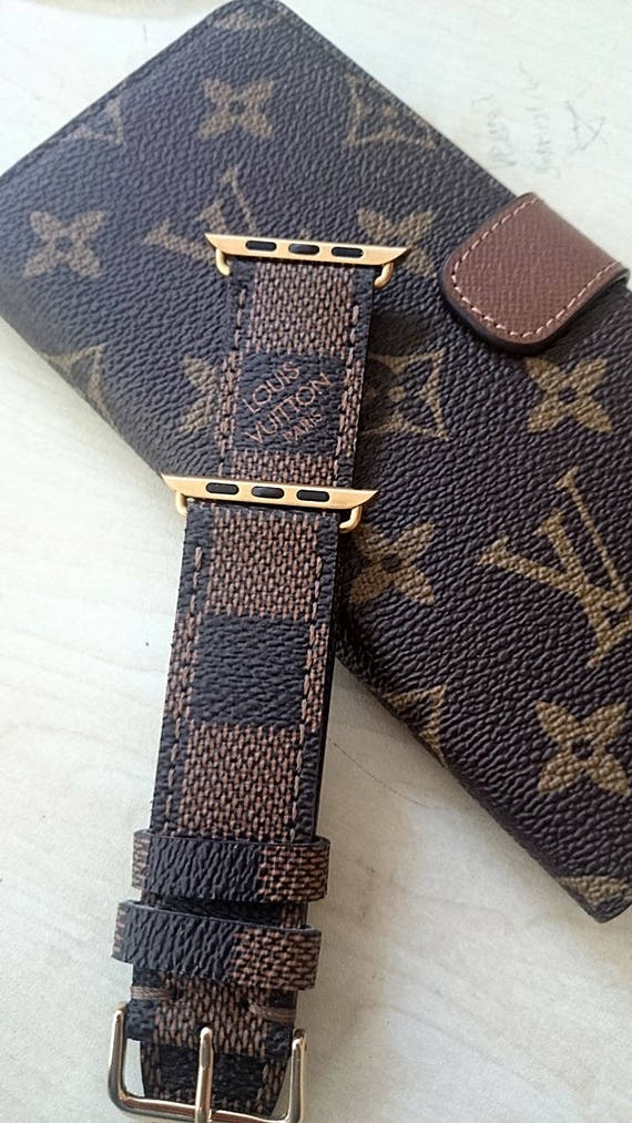 Apple watch strap Lv watch strap Lv damier band louis | Etsy