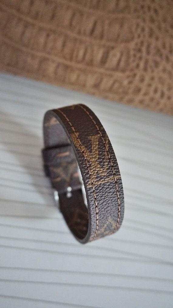75cfc4d13eb6 LV Bracelet bracelet monogram Lv bracelet homme Lv bracelet   Etsy