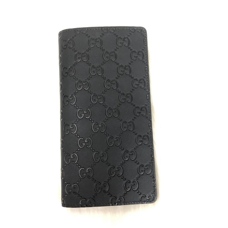 6e1e405125c3a Gucci Signature Long wallet Brazza Wallet money wallet