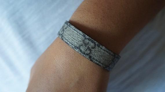 67a4404d1966 Don de GG Bracelet bracelet en cuir bande de Gucci   Etsy