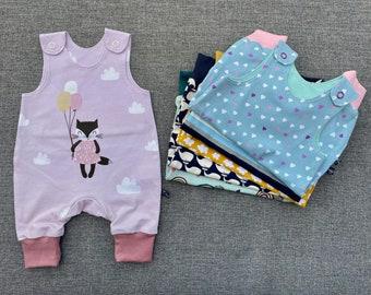 Premature baby romper size 44 and 50, Comfortable premature baby clothes, unique