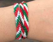 b0006d6aeac7 Artículos similares a Bandera de México ajustable inspirado colores ...